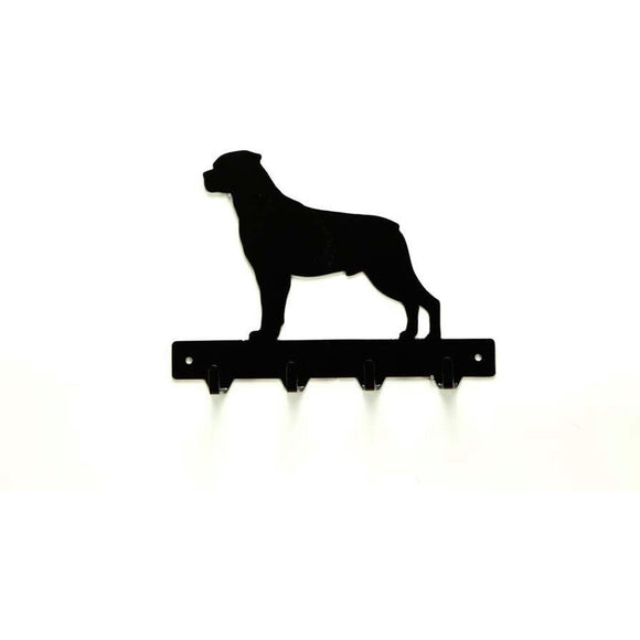 Rottweiler Leash Rack - Knob Creek Metal Arts