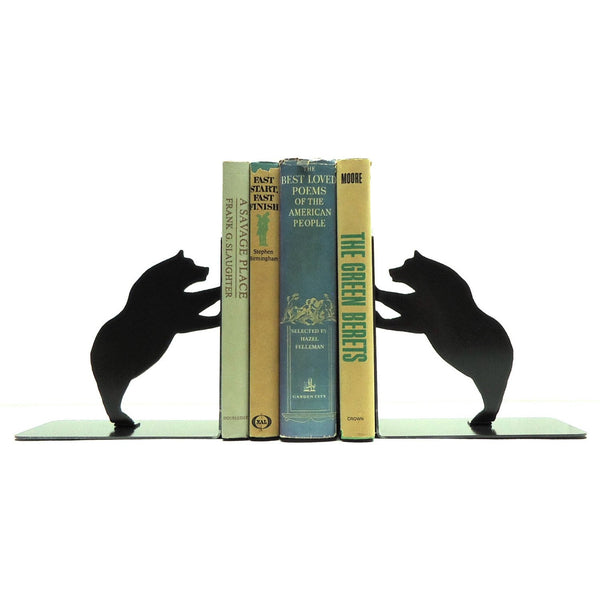 Bear Bookends - Knob Creek Metal Arts