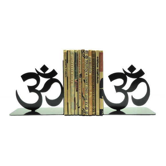 Yoga Om Bookends - Knob Creek Metal Arts