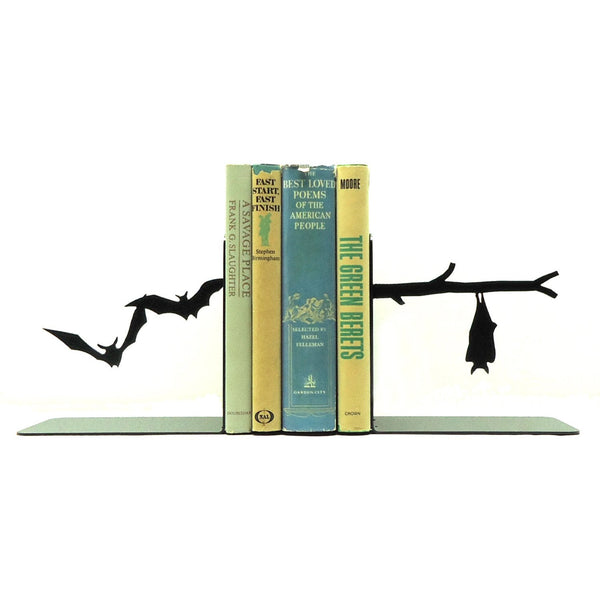 Bats Bookends - Knob Creek Metal Arts