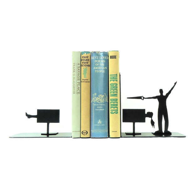 Magician Bookends - Knob Creek Metal Arts