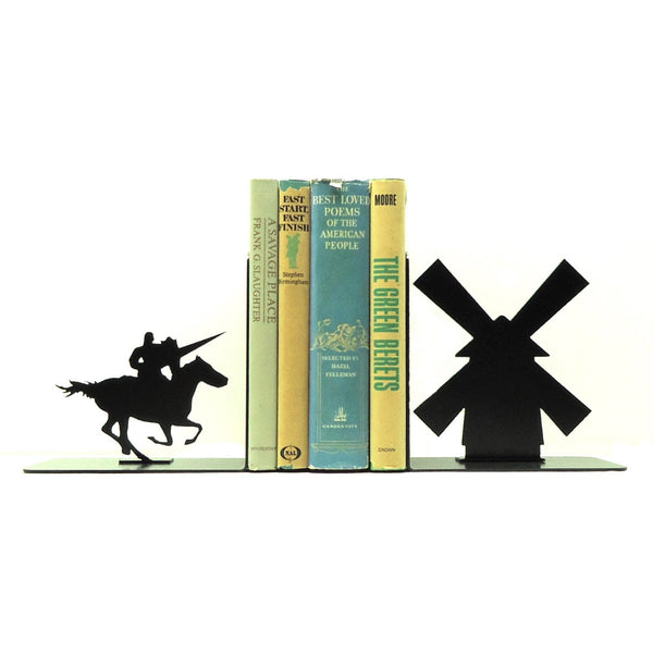 Don Quixote Bookends - Knob Creek Metal Arts