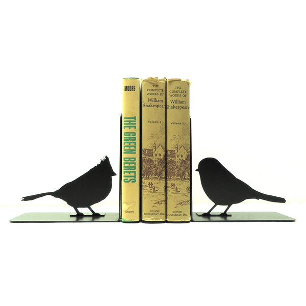 Song Bird Bookends - Knob Creek Metal Arts