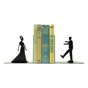 Frankenstein & Bride Bookends - Knob Creek Metal Arts