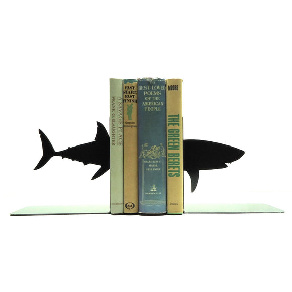 Shark Bookends - Knob Creek Metal Arts