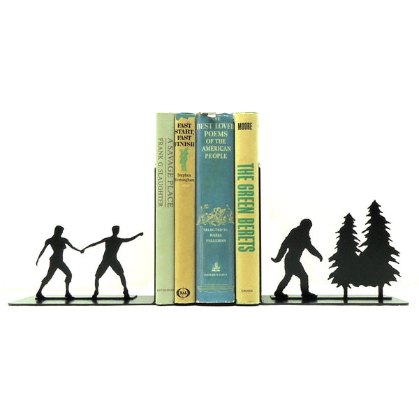 Bigfoot Sasquatch Bookends - Knob Creek Metal Arts