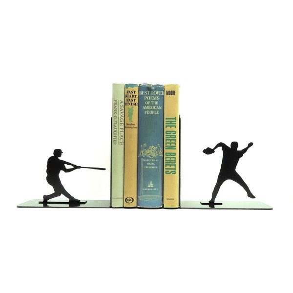 Baseball Bookends - Knob Creek Metal Arts