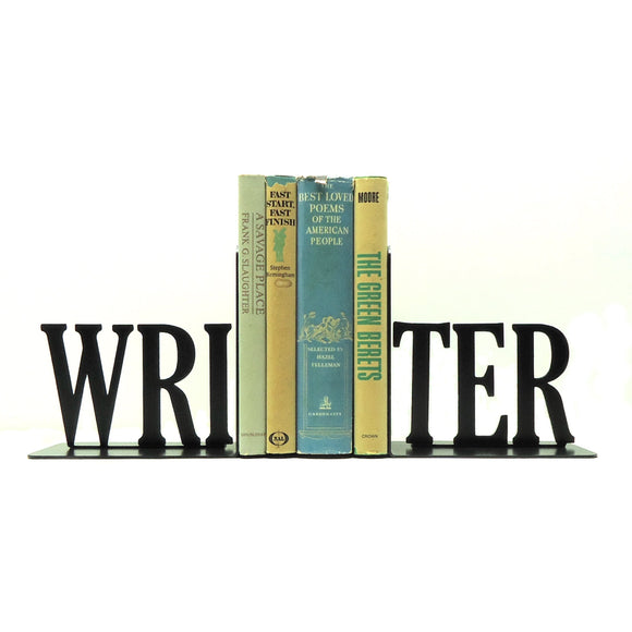 Writer Bookends - Knob Creek Metal Arts