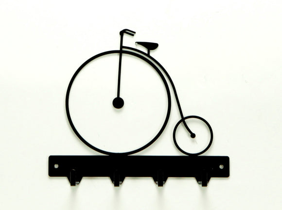 Antique Bicycle Key Rack - Knob Creek Metal Arts