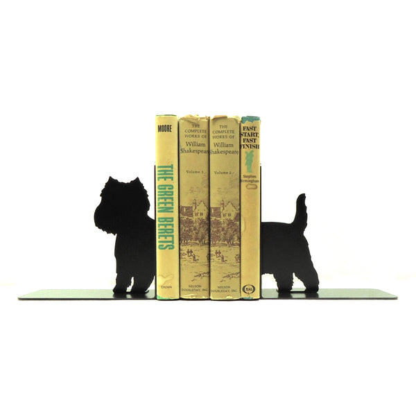 Westie Bookends - Knob Creek Metal Arts