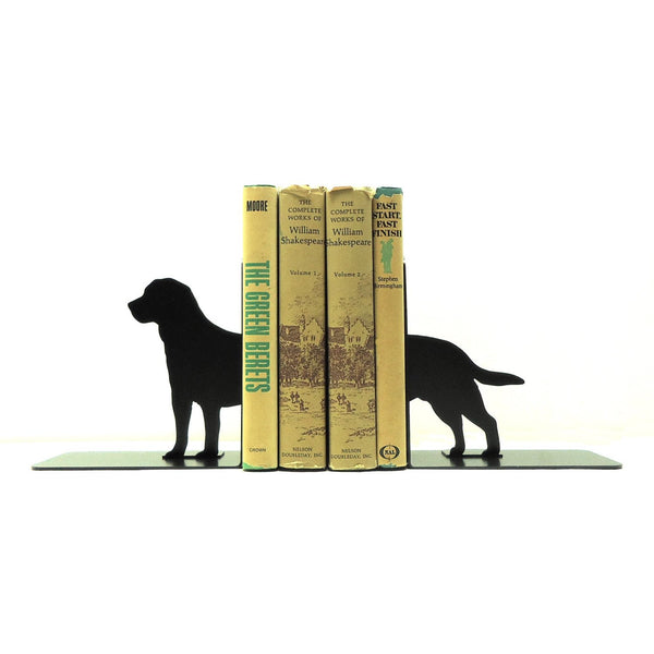 Labrador Retriever Bookends - Knob Creek Metal Arts