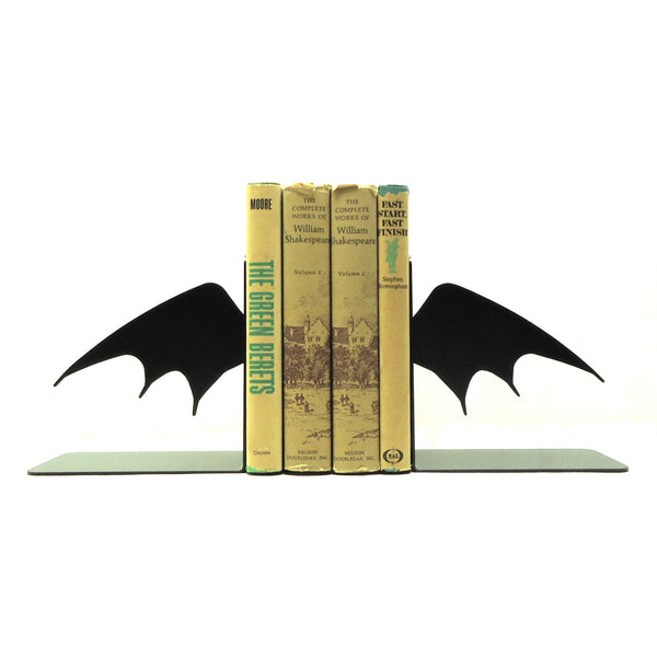 Bat Wing Bookends - Knob Creek Metal Arts