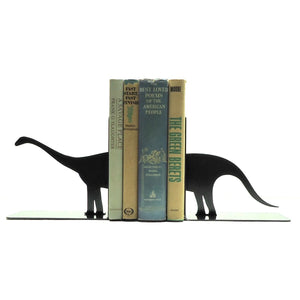 Brontosaurus Bookends - Knob Creek Metal Arts