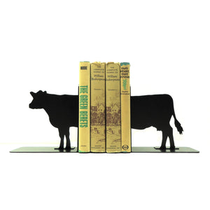 Cow Bookends - Knob Creek Metal Arts