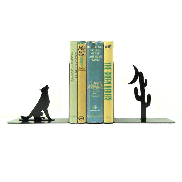 Howl At The Moon Bookends - Knob Creek Metal Arts