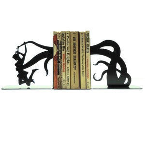 Tentacle Attack Bookends - Knob Creek Metal Arts