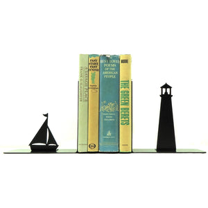 Lighthouse Bookends - Knob Creek Metal Arts
