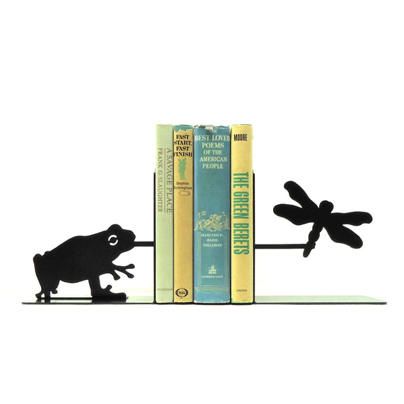 Frog Bookends - Knob Creek Metal Arts