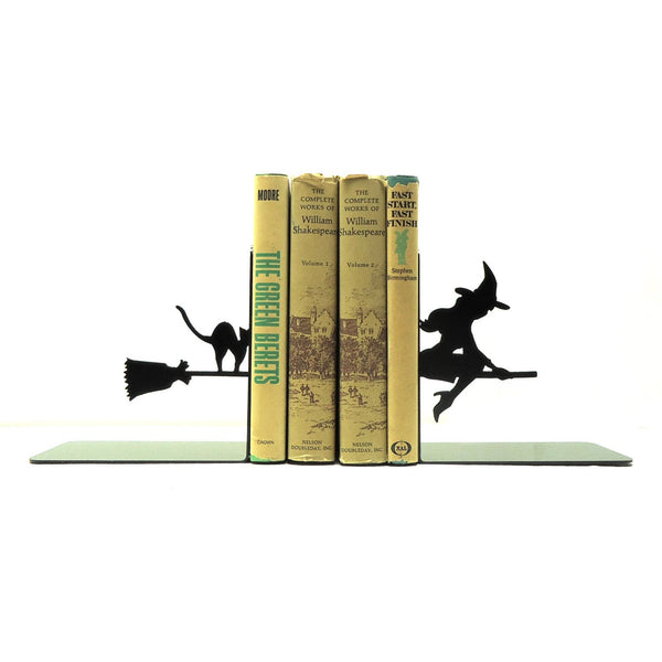 Witch Bookends - Knob Creek Metal Arts