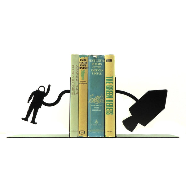 Spacewalk Bookends - Knob Creek Metal Arts
