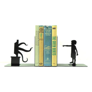 Tentacle Television Bookends - Knob Creek Metal Arts