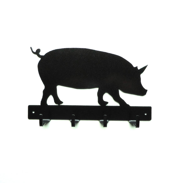 Pig Key Rack - Knob Creek Metal Arts