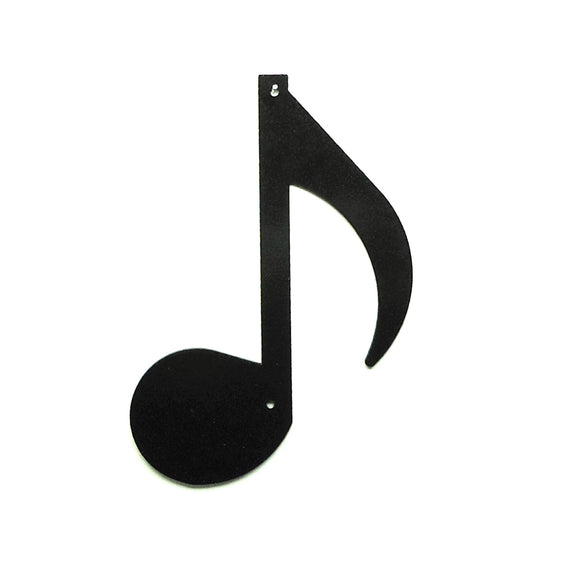Eighth Note Wall Art - Knob Creek Metal Arts