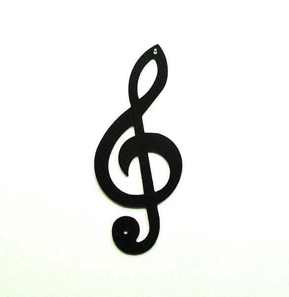 Treble Clef Wall Art - Knob Creek Metal Arts