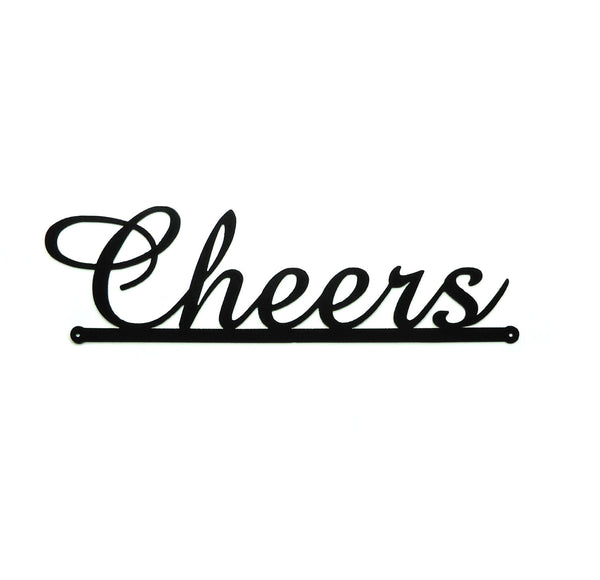 Cheers Wall Art - Knob Creek Metal Arts
