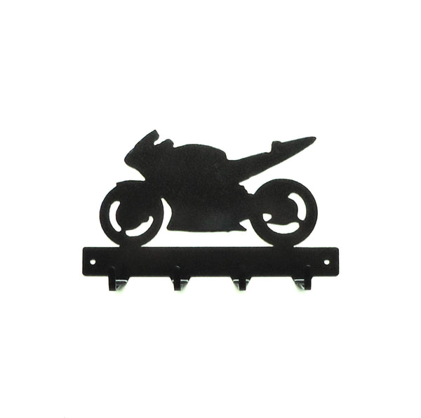 Sport Bike Key Rack - Knob Creek Metal Arts