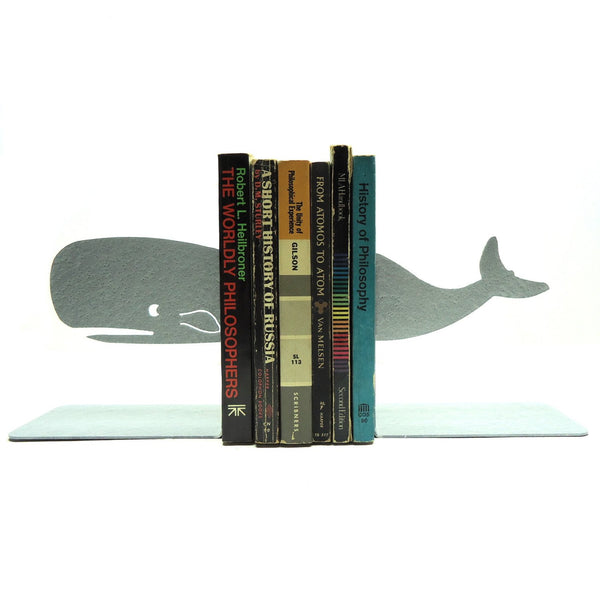 Whale Bookends - Knob Creek Metal Arts