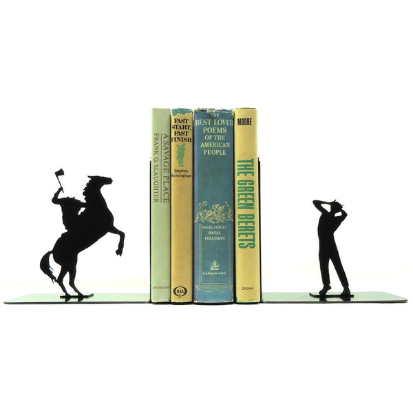 Headless Horseman Bookends - Knob Creek Metal Arts