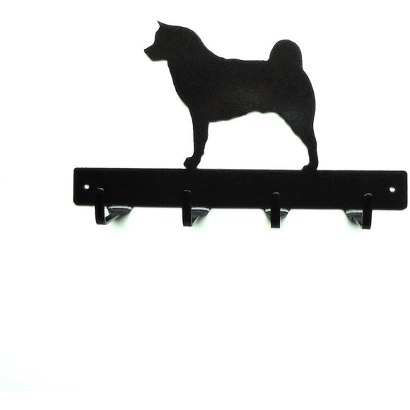 Akita Leash Rack - Knob Creek Metal Arts