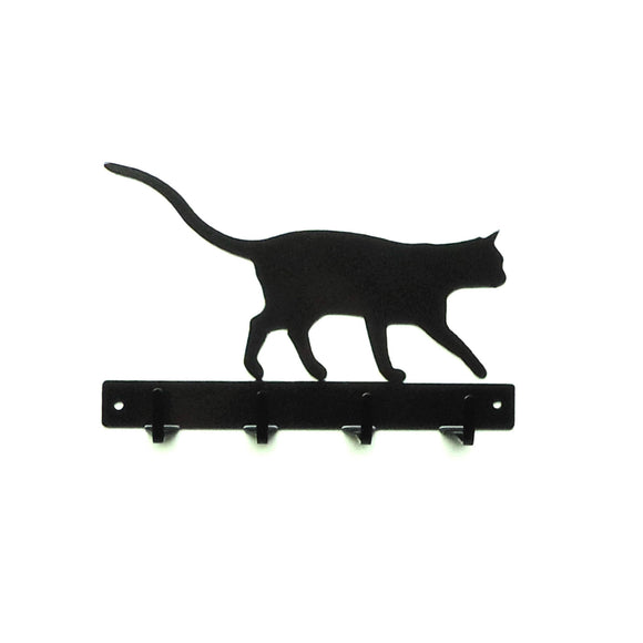 Cat Key Rack - Knob Creek Metal Arts