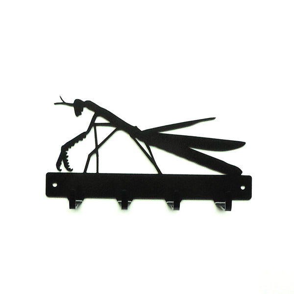Praying Mantis Key Rack - Knob Creek Metal Arts