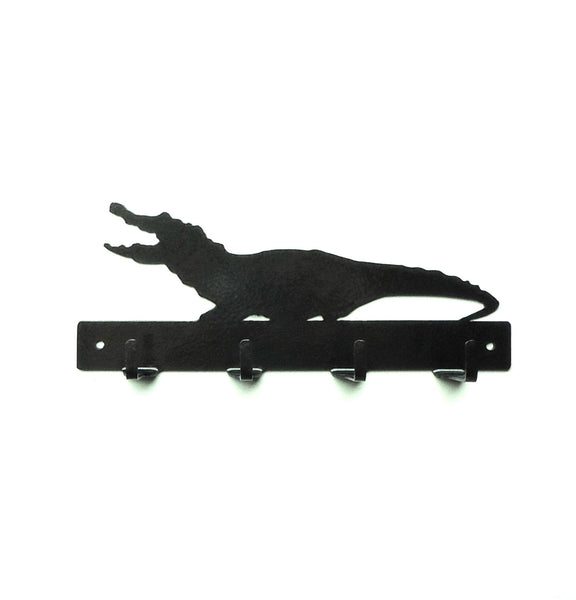 Alligator Key Rack - Knob Creek Metal Arts