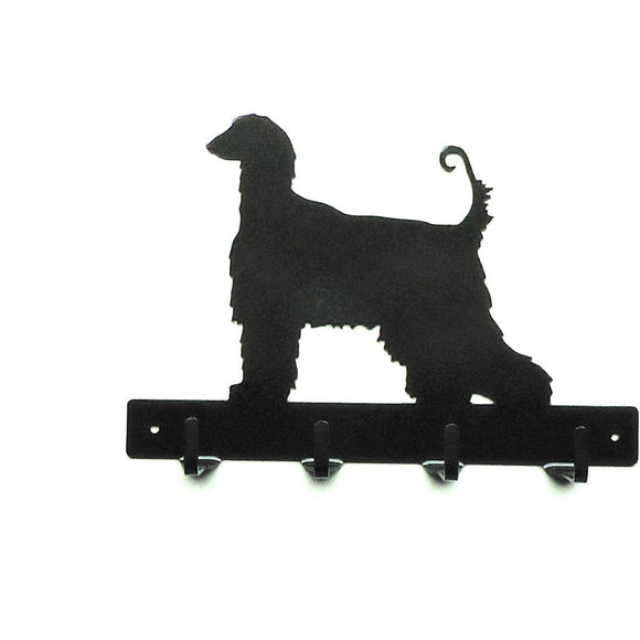 Afghan Leash Rack - Knob Creek Metal Arts