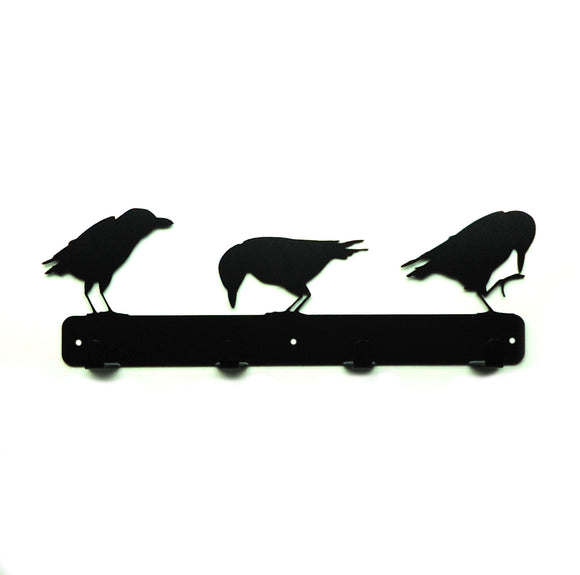Raven Coat Rack - Knob Creek Metal Arts