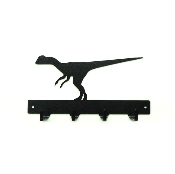 Raptor Dinosaur Key Rack - Knob Creek Metal Arts