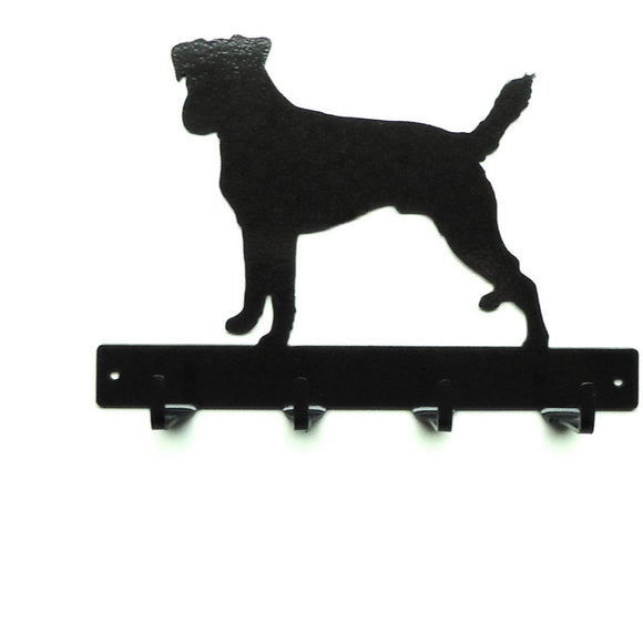 Russell Terrier Leash Rack - Knob Creek Metal Arts