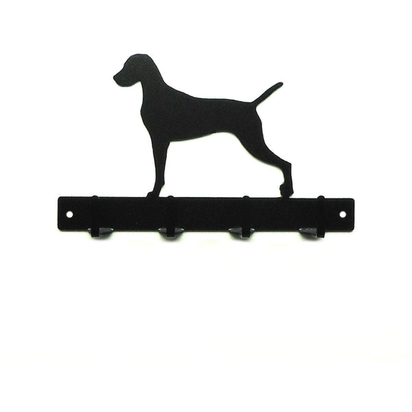 Vizsla Leash Rack - Knob Creek Metal Arts