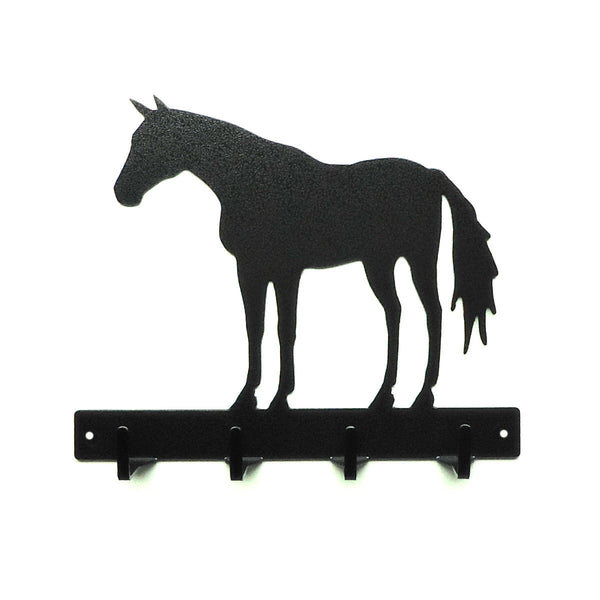 Horse Key Rack - Knob Creek Metal Arts