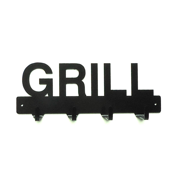 Grill Utensil Rack - Knob Creek Metal Arts