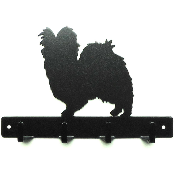 Papillon Leash Rack - Knob Creek Metal Arts