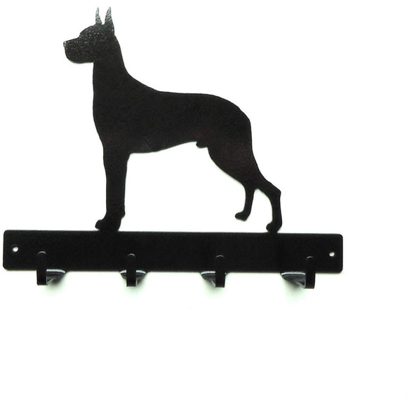 Great Dane Leash Rack - Knob Creek Metal Arts