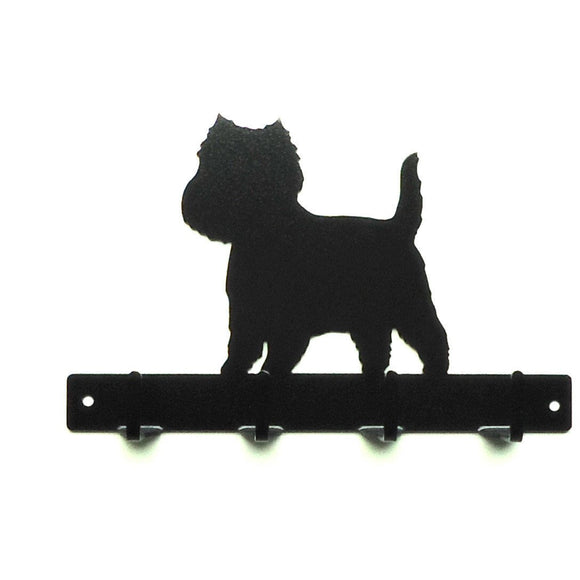 Westie Leash Rack - Knob Creek Metal Arts