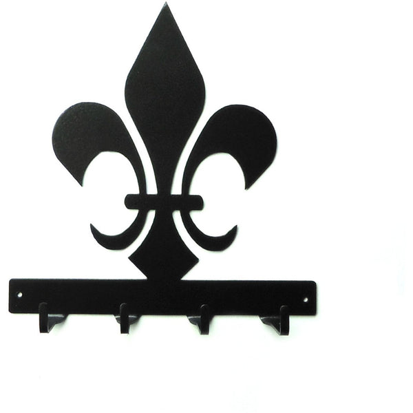 Fleur de Lis Key Rack - Knob Creek Metal Arts