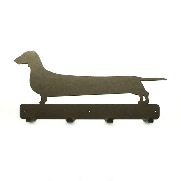 Stretch Wiener Dog Coat Rack - Knob Creek Metal Arts