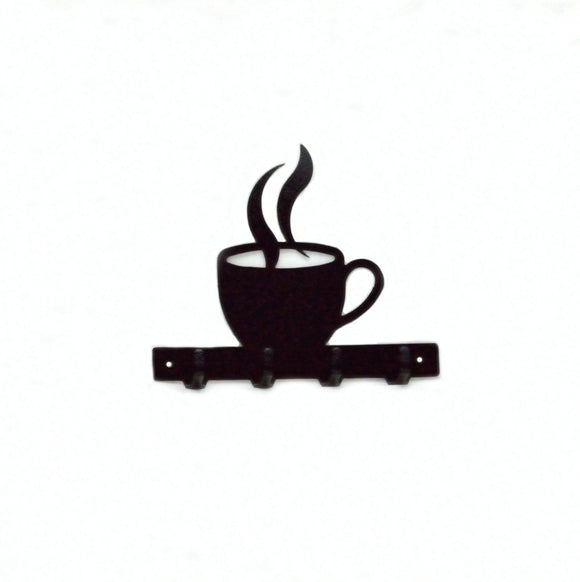 Coffee Cup Key Rack - Knob Creek Metal Arts