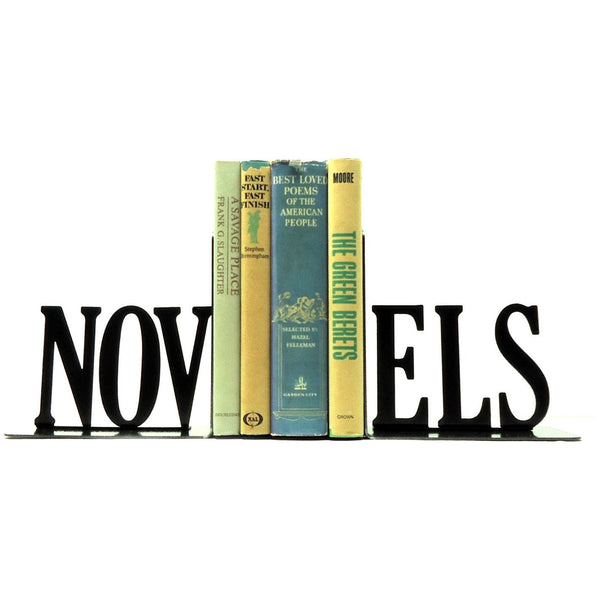 Novels Bookends - Knob Creek Metal Arts